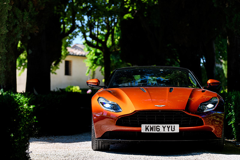 Aston Martin: welcome to Villa Collalto